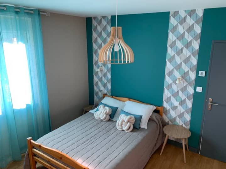 Chambre famille en Ardèche