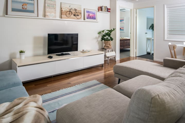 Modular sofas with plenty of room to stretch out in front of the TV