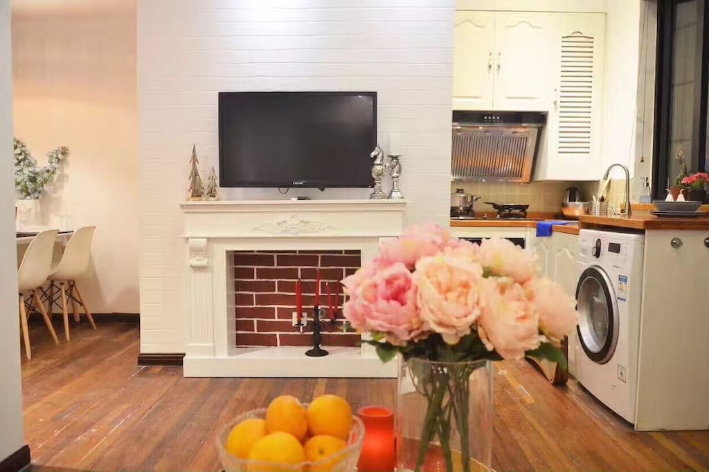 TV with IPTV /Kitchen with all the amenities/laundry