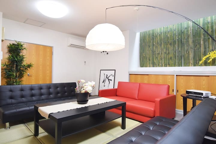 Very close to Shinjuku! JPN&Modern 4BR TV+WiFi!! - Shinjuku-ku - Wohnung