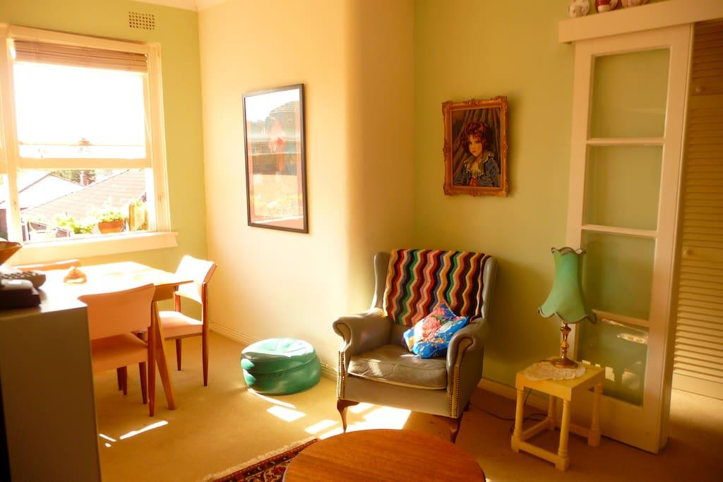 Sunny loungeroom