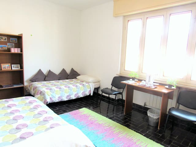 Beautiful twin room near city center