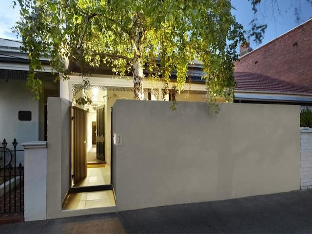 Beautifully designed terrace house - South Melbourne - Haus