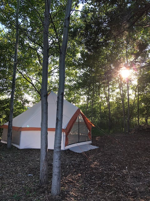 Secluded Yurt Style Tent #2