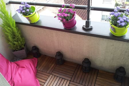 Bedroom with a private bathroom - Charenton-le-Pont - Apartemen