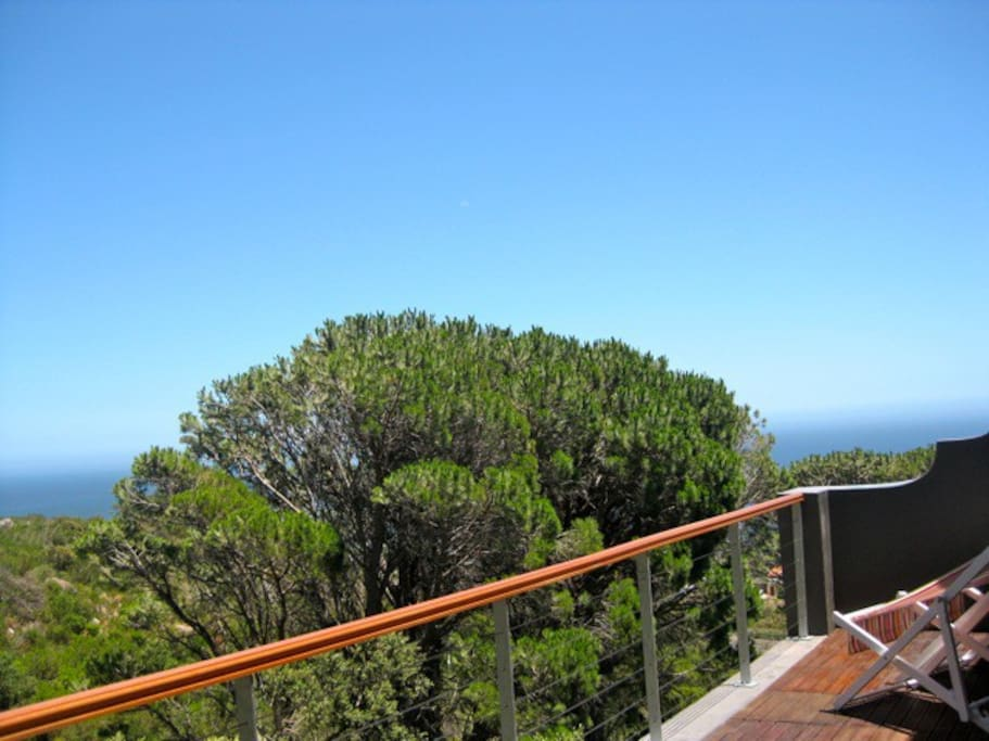 Stunning decked balcony for sunsets and wildlife spotting