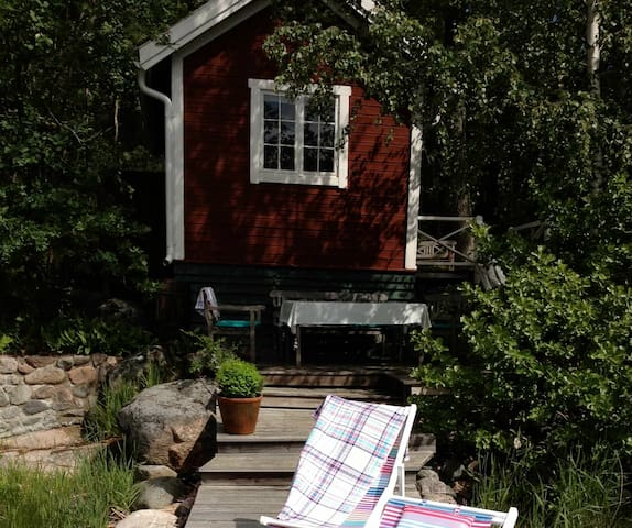 Seaside Cottage  Archipelago - Vättersö - กระท่อม
