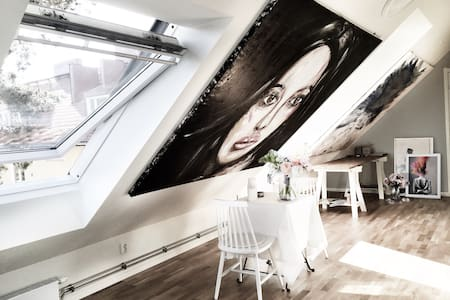 Artist loft close to city - Sollentuna