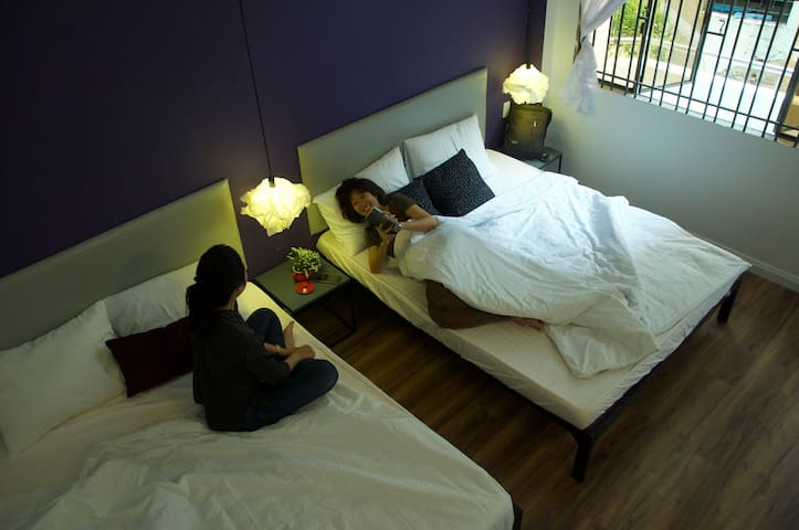 Comfortable bed rooms