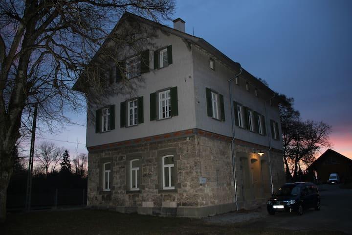 Kleine Wohnung, FeWo, Weichenwärter, Bahnhof
