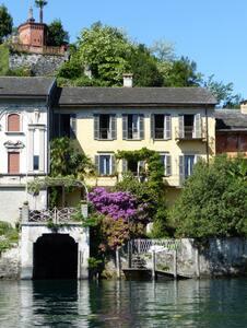 Villa Isola di S.Giulio 9 posti letto , giardino - Orta San Giulio