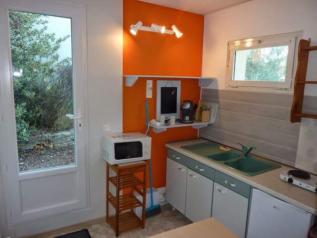 Studio indépendant de 20m² avec jardinet - Teyran - Huoneisto