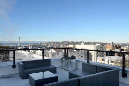 NEW! Stunning Studio in Heart of Seattle (101) - Seattle - Appartement