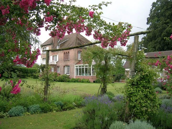 Le Bois de Bonance Chambre verte