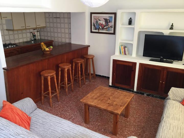 Apartamento a 100 mts de la PLAYA con wifi