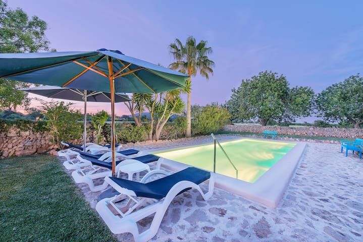 Goret Vell - Charming house with pool and garden - Santanyí - Ev