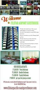 AIRPORT GUESTHOUSE PRIVATE ROOM HOTEL QUALITY - Parañaque