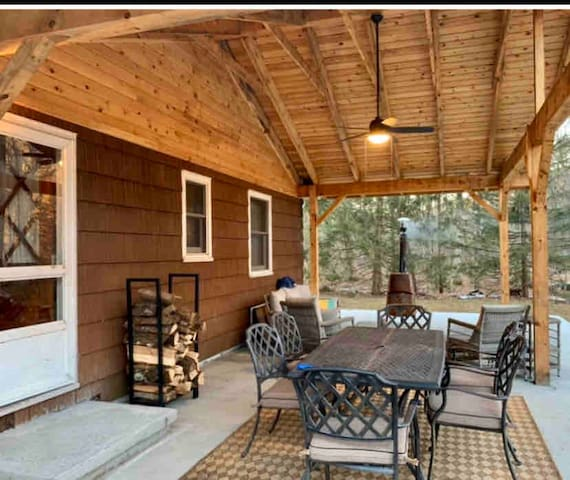 Delaware Riverfront Cabin 1-Just 90 miles from NYC