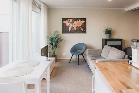 Stylish new studio apartment