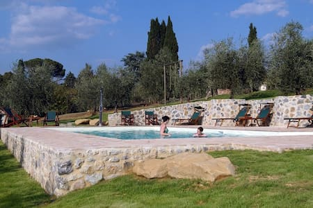 In the Countryside 1km from Siena - Uopini - House - 2