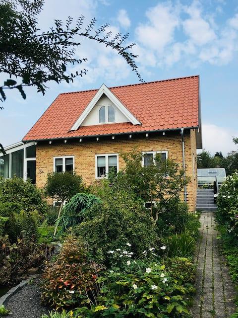 Hyggeligt og centralt i Aarhus
