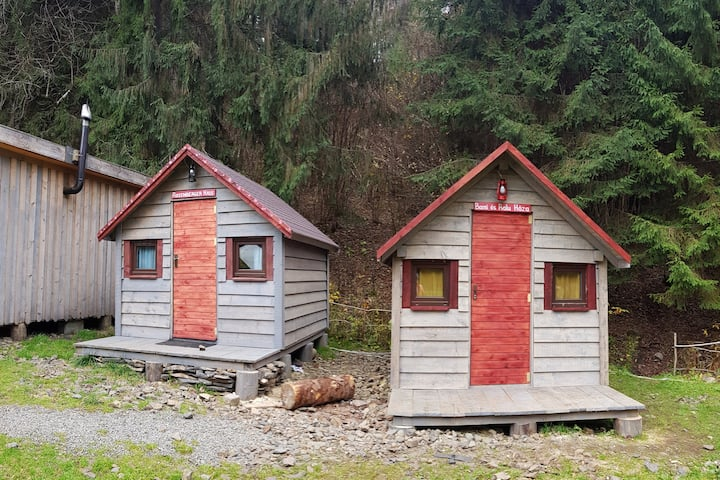 Tiny Wooden Houses