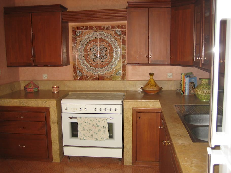 American designed fully equipped Kitchen