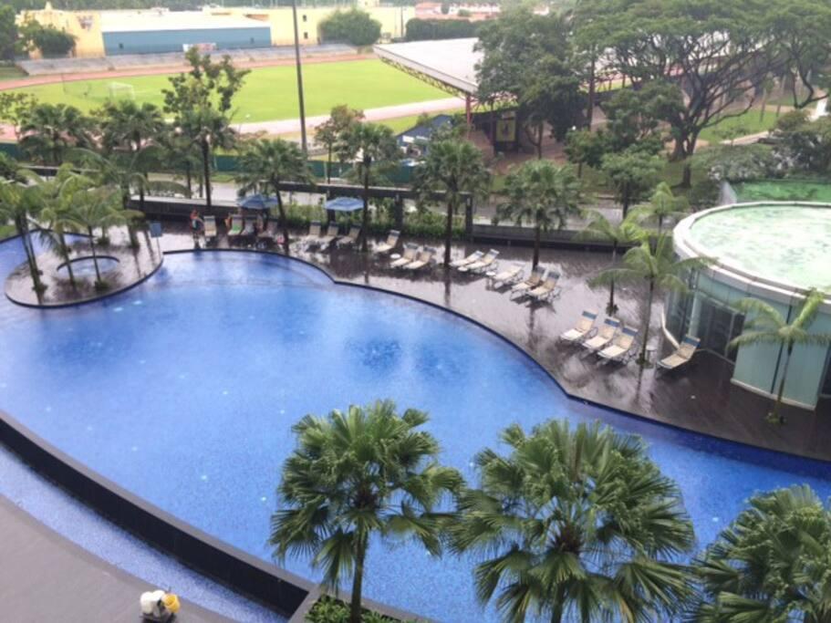 masterroom parc condo 5mins to clementi mrt appartements louer singapour singapour. Black Bedroom Furniture Sets. Home Design Ideas