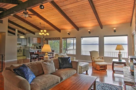 NEW! Beachfront Family Home w/ Views: Hike + Fish!