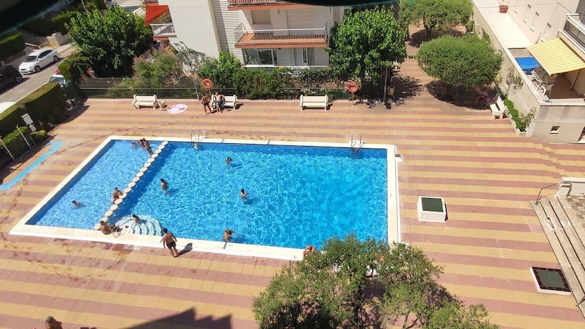 CALAFEL 5 Beach: WIFI ,Swimimg pool, PARKING, Sun.
