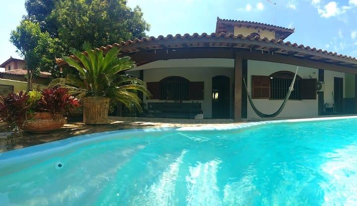 Búzios: Casa de 3 quartos com linda piscina!