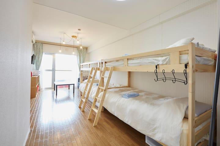 Simple&Clean,6minsEBISU,nearSHIBUYA,FreeWifi - Shibuya-ku - Departamento