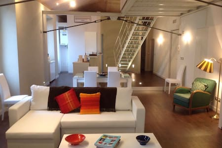 Luxurious & spacious downtown loft - Imperia - Loft