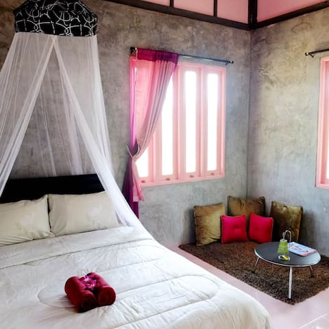 Pink Room 2 @Home172_Wangnamkhiao - Wang Nam Khiao - Pousada