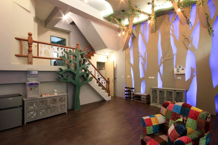 20 people can stay, 4 suites - Ji'an Township - Bed & Breakfast