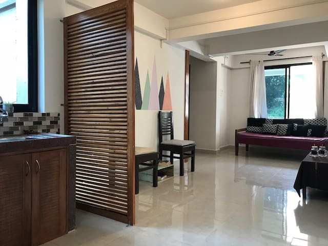 Goa with Love! Entire Home 2BR