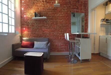Small, cosy and design nest in the heart of Marais - Parijs
