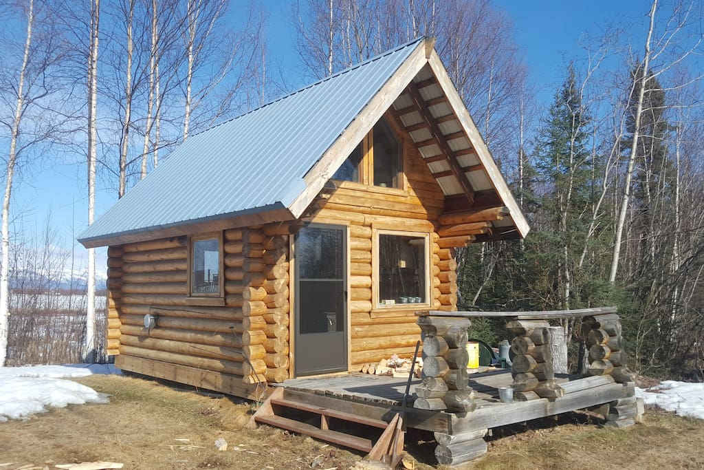 Big lake island adventures guest cabin cabins for rent for Big island cabins