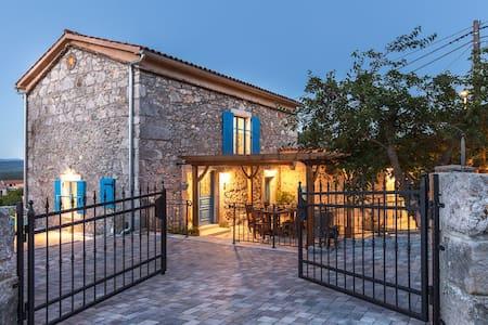 Luxury  stone villa with pool 9101 - Vrh - Dom
