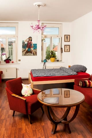 Comfy artists flat in plagwitz - Leipzig - Appartement