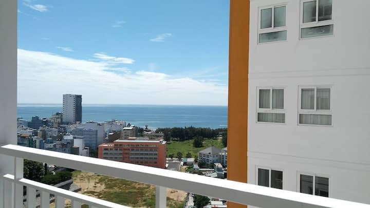 Sea view apartment as your sweet home
