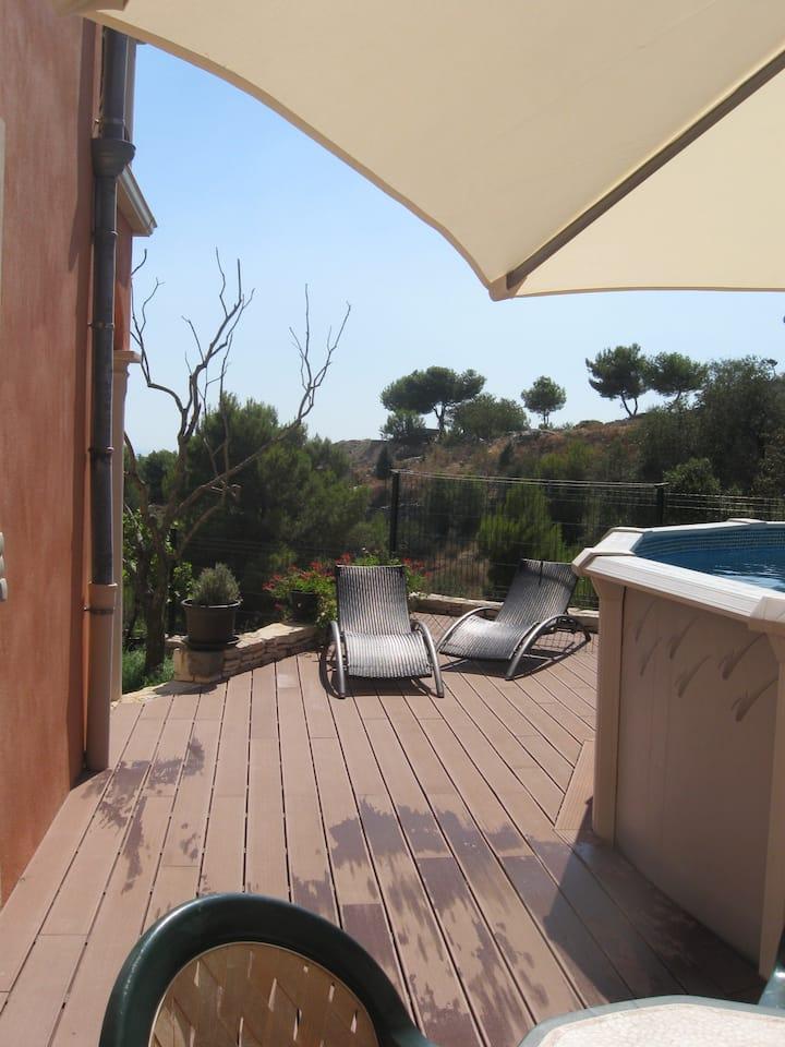 Appartement Jardin Terrasse Piscine