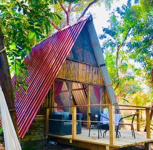 ecolodge-cabañas n 5 in a preserve island