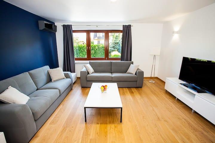 Azure Apartment in Wieliczka