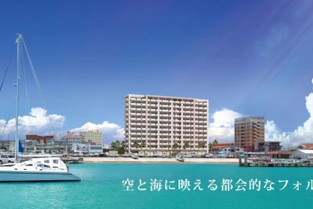 Front View from Hamazaki Marina