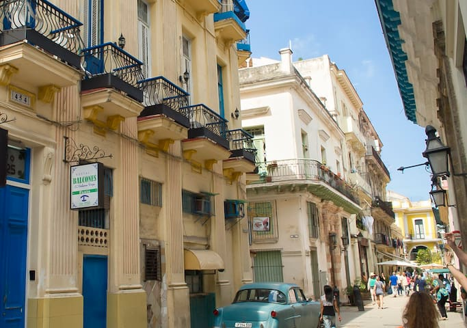 Balcones Habana Vieja Hab1-Tourist Heart of Habana