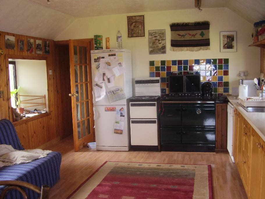 Range provides really cosy central heating as well as great cooking!