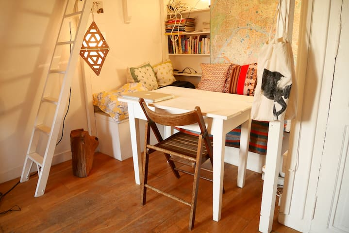 Charming studio in the heart of Paris for 2