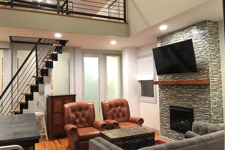 No Fees! Modern Candler Park Carriage House/Loft! - Atlanta