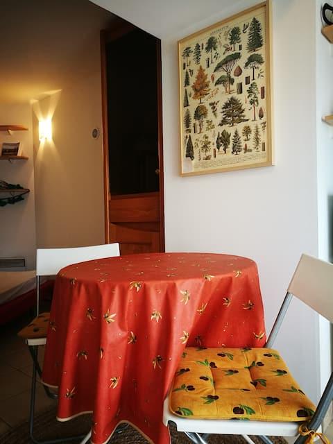 Studio indépendant dans Villa Belle Epoque